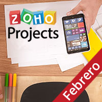 Zoho Projects App Móvil